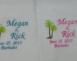 wedding gift towels honeymoon towel etsy