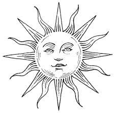 best sun moon tattoos