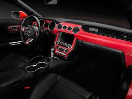 1990 Mustang Interior American Muscle Graphics Mustang Red Carbon Fiber Dash Kit 389877