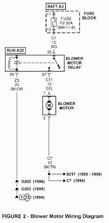 1996 dodge dakota blower motor tsb 08 32 96
