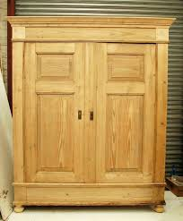 Pine Bookcase With Doors Wardrobes Painting Over Old Pine Furniture Antique Pine