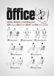 exercice au bureau épinglé par denver owen sur workouts