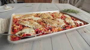 cuisine tv recettes italiennes plaque de sole à l italienne cuisine futée parents pressés