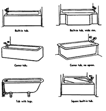 Standard Length Of Bathtub Bath Remodeling Bathroom Floor Plans