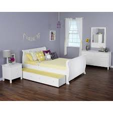 Full Bed With Trundle Olivia 4 Piece Full Sleigh Bed With Trundle Bed Set