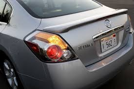 nissan altima tail light cover 2008 nissan altima 3 5 sl tail light picture pic image