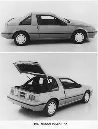 silver nissan car nissan pulsar nx 1980 cartype