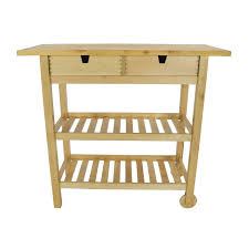 Kitchen Cart Table by 56 Off Ikea Forhoja Kitchen Cart Tables