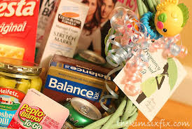 pregnancy gift ideas pregnancy survival kit to be gift basket the six fix
