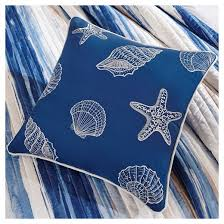 Blue Quilted Coverlet Fairbanks Beach Striped Quilted Coverlet Set Blue 6pc Target