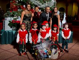 Obama First Family by Barack Obama Discusses His Christmas Shopping Business Insider