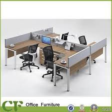 Office Desk Cubicles Cf 4 Person Commercial Work Desk Cubicles Office Workstation