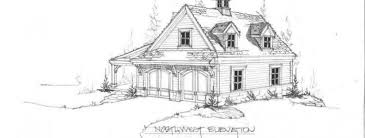small cottage sketch home design group