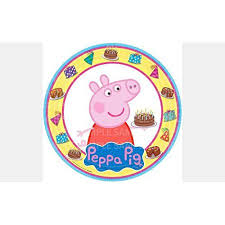 peppa pig birthday edible frosting image photo 8