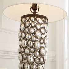 Mercury Glass Table Lamp Caged Mercury Glass Table Lamp Shades Of Light