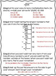best 25 teaching long division ideas on pinterest math division