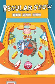Pinball Map Drop Target Zine Regular Show Pinball