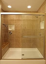 ceramic tile ideas for bathrooms bathroom shower ceramic tile ideas rectangle frameless mirror