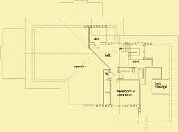Floor Plans For Mountain Homes Mountain House Plans For A Craftsman Style 3 Bedroom Home