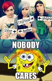 Spongebob Nobody Cares Meme - spongebob nobody cares dump a day