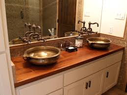 56 inch double vessel sink bathroom vanity with extra drawers