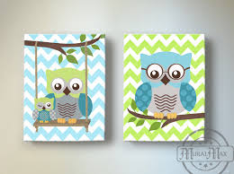 Nursery Owl Decor Owl Nursery Decor Custom Decor