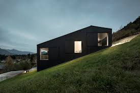 Building A House On A Slope The Studhorse House By Olson Kundig In Washington U0027s North Cascades