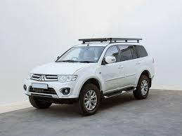 mitsubishi car 2008 mitsubishi pajero sport 2008 2015 slimline ii roof rack kit by