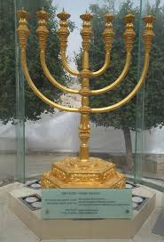jerusalem menorah the golden menorah located in the quarter in the city