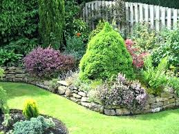 Garden Rock Rock Wall Garden Ideas Garden And Backyard Retaining Walls