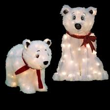 Outdoor Christmas Decorations At Home Depot Bear Christmas Yard Decorations Outdoor Christmas Decorations