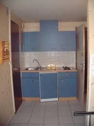 meuble cuisine bleu appartement meublé miss3 cuisine