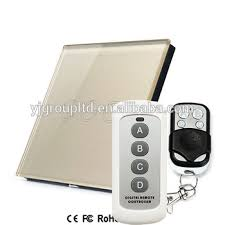 touch screen wall light switch rf433mhz 3 gang smart touch screen wall light switch uk eu standard
