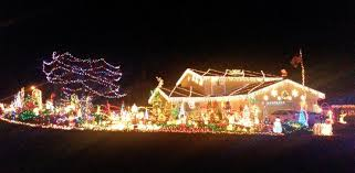 houses with christmas lights near me holiday lights bright on clark county homes the columbian