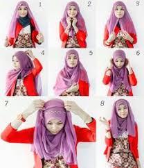 tutorial jilbab jilbab hijab segiempat tutorial hijab pinterest tutorials hijabs and