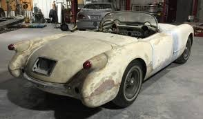 1961 corvette project for sale blue project 1954 corvette c1