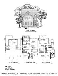 Lake Home Plans Narrow Lot Cottage Farm House Only 34 U00274