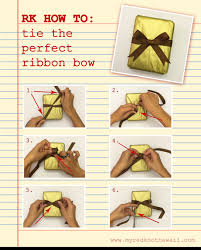 tie ribbon how to tie the knot