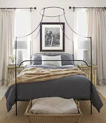 Iron Canopy Bed Wrought Iron Beds Style Strength U0026 Comfort