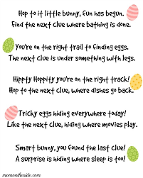 easter scavenger hunt printable easter scavenger hunt clues for kids and teens easter