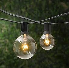 Patio String Lights Canada String Globe Lighting Outdoor Patio String Lights Globe Lighting