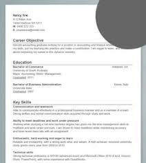 accounting graduate sample resume career faqs