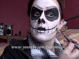 Jack Pumpkin King Halloween Costume Jack Skellington Makeup Tutorial