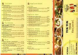tuk tuk cuisine tuk tuk menu gold coast menu