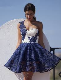 100 navy lace cocktail dress navy blue lace mermaid neck