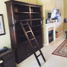Library Bookcase With Ladder by Customer Photos Red Tree Bramble Furniture Offering The Lowest