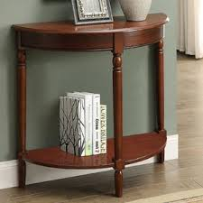 Entryway Console Table Curved Entryway Table Wayfair