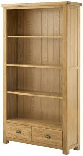 Oak Bookcases With Drawers Grand Oak Bookcase With Drawers