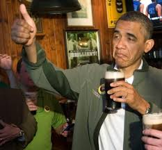 Obama Beer Meme - upvoting obama know your meme