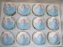 cupcake recipes for baby shower boy baby shower cupcakes baby